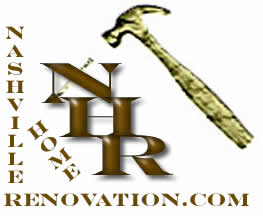 Nashville Home Renovation Logo Image has hammer and nail